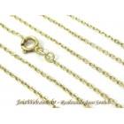 C8990-00385 Bonitona Corrente de Ouro Elos Cartier Ovais 60cm